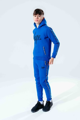 Hype. Blue Micro Taping Kids Joggers
