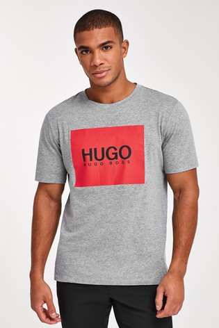 HUGO Dolive Patch Logo T-Shirt