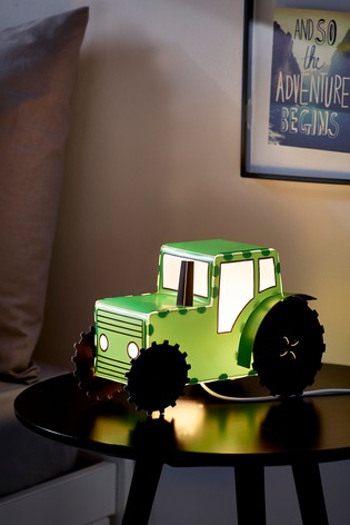 Tractor Table Lamp