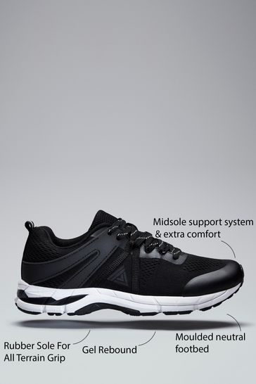 Black V300W Active Running Trainers
