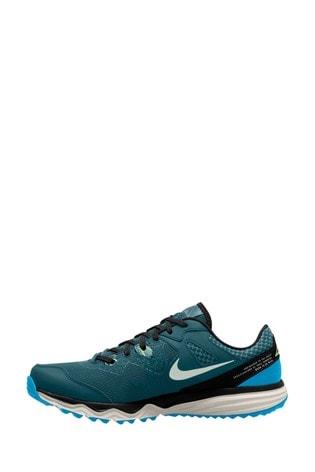 Nike Trail Teal/Silver Juniper Trainers