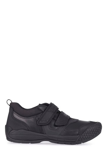 Start-Rite Strike Black Leather Shoes