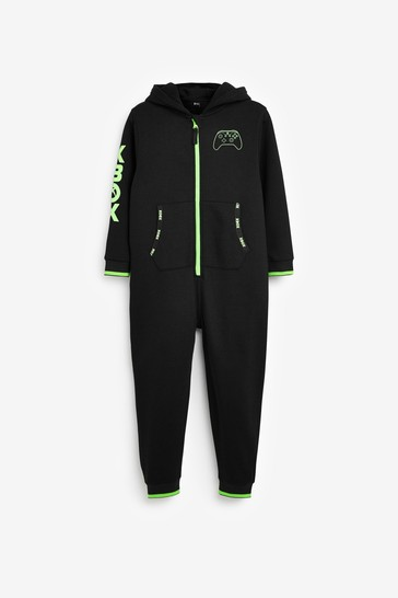 Black Xbox Sweat All-In-One (5-16yrs)