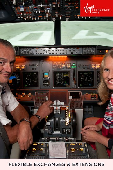 Flight Simulator Experience Aboard A Boeing 737 Gift by Virgin Experience Days