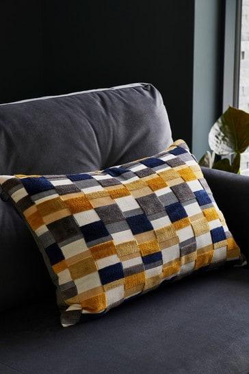 Scion Living At Next Kochi Cut Velvet Cushion