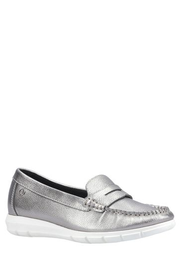 Hush Puppies Silver Paige Slip-On Loafers