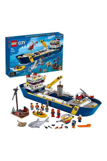 LEGO 60266 City Ocean Exploration Ship Floating Toy Boat