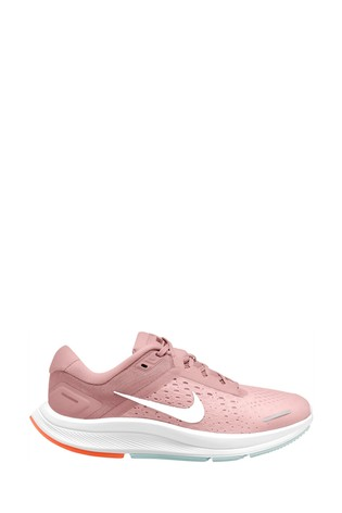 Nike Run Pink Zoom Air Structure Trainers
