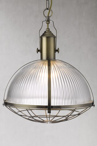 Koby Industrial 1 Light Pendant by Searchlight