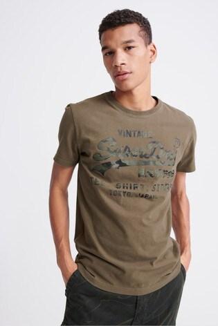 Superdry Vintage Logo Bonded T-Shirt