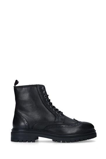 Kurt Geiger Black Ashurst Boots