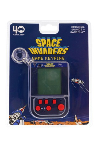 Space Invaders Keyring Game
