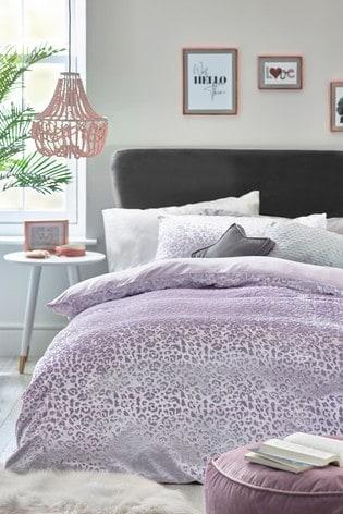 Velvet Animal Duvet Cover and Pillowcase Set