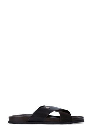 Kurt Geiger London Logan Brown Sandals