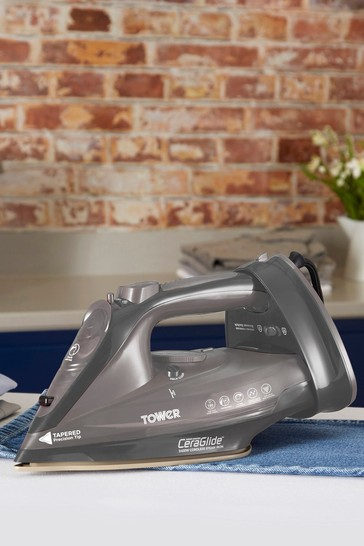2400W Cord Cordless Steam Iron by Tower