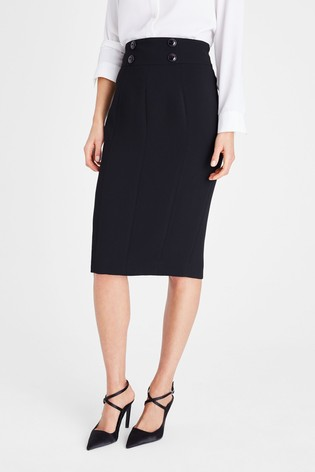 Damsel In A Dress Black Nina City Suit Skirt