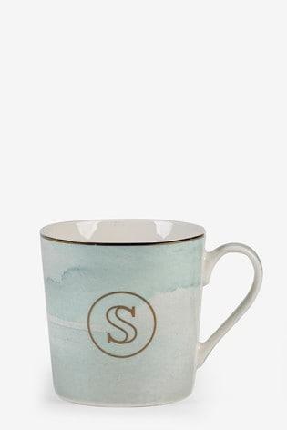 Monogram Pastel Mug