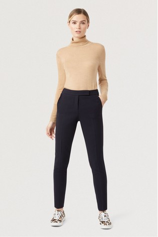 Hobbs Blue Leila Trousers
