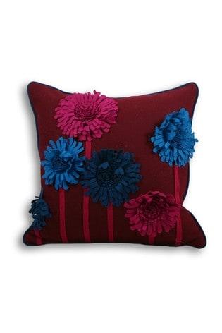Riva Home Purple Maisie Cushion