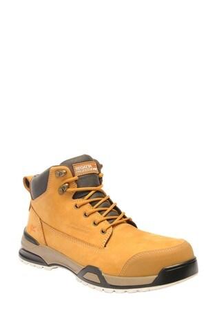 Regatta Brown Invective SBP Safety Boots