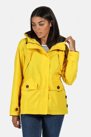 Regatta Yellow Ninette Waterproof Jacket