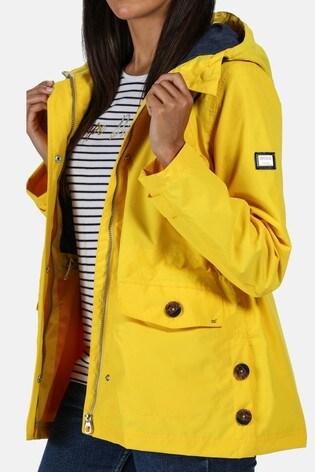 Regatta Yellow Ninette Waterproof Jacket