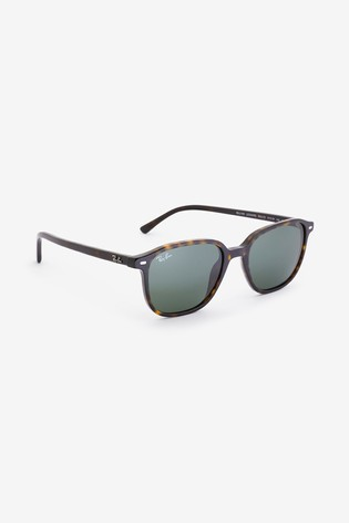 Ray-Ban® Leonard Square Frame Sunglasses