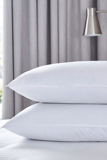 2 Pack Pure Cotton Pillows by Silentnight