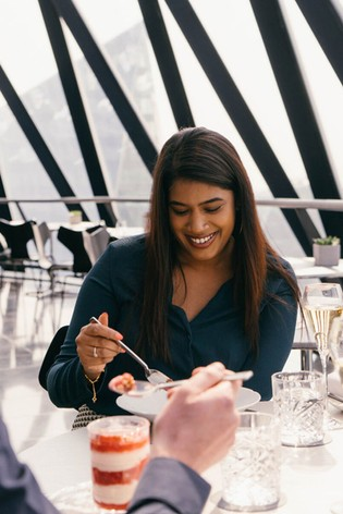 Four Course Champagne Sunday Brunch At The Gherkin Gift Experience by Virgin Experience Days