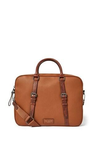 Ted Baker Hooston Leather Document Bag
