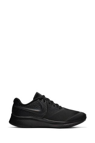 Nike Run Black Star Runner Youth Trainers