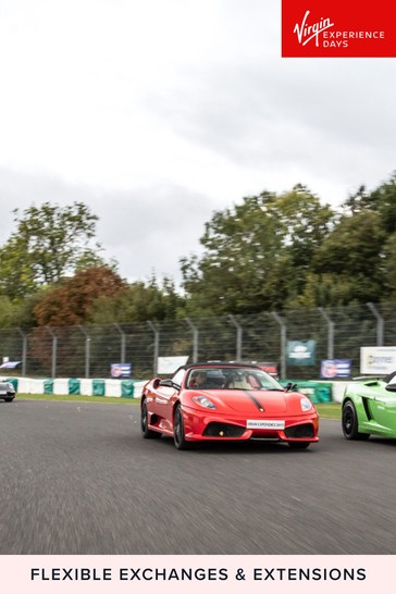 Four Supercar Blast Plus High Speed Passenger Ride Gift by Virgin Experience Days
