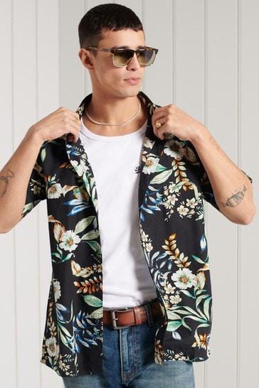 Superdry Hawaiian Box Fit Shirt