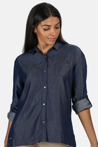 Regatta Blue Meera Coolweave Shirt