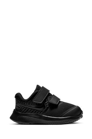 Nike Run Black Star Runner Infant Trainers