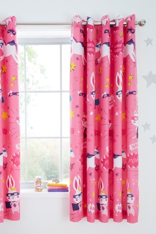 Super Bunny Eyelet Curtains by Catherine Lansfield