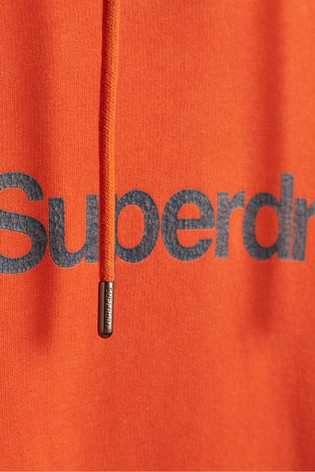 Superdry Classic Logo Canvas Hoodie