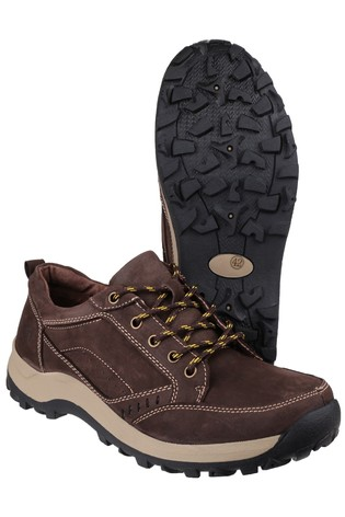 Cotswold Brown Nailsworth Lace-Up Shoes