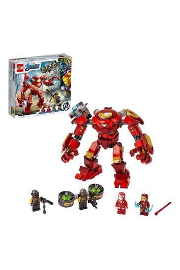 LEGO 76164 Marvel Avengers Iron Man Hulkbuster vs. A.I.M. Agent Toy