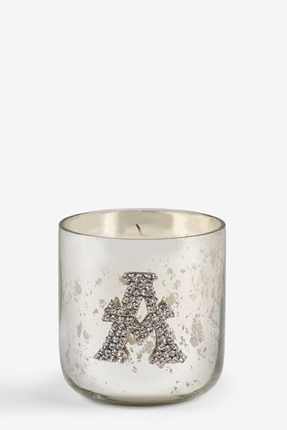 Midnight Patchouli & Amber Monogram Candle
