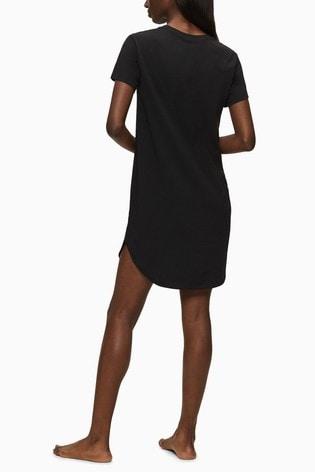Calvin Klein Black Nightshirt