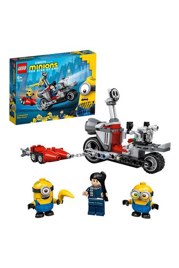 LEGO 75549 Minions Unstoppable Bike Chase & Skate Toy