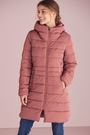 Pink Maternity 2 In 1 Padded Jacket