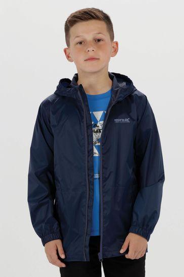 Regatta Kids Pack It Waterproof & Breathable Puddle Jacket