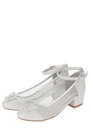 Monsoon Silver Lottie Princess Butterfly Shoe