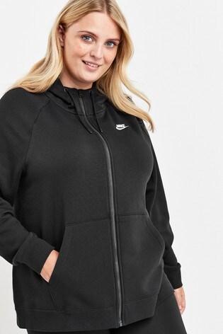 Nike Curve Essential Zip Through Hoodie