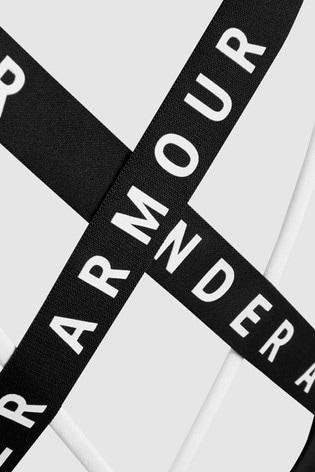 Under Armour Strappy Logo Bra