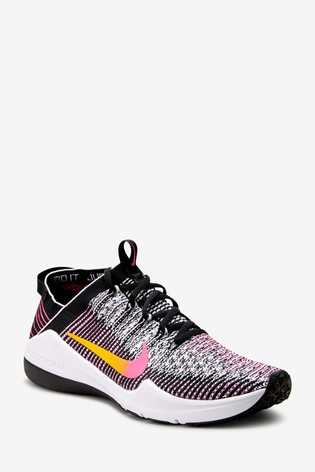 nuova collezione le più votate più recenti sempre popolare Buy Nike Gym Black/Pink Air Zoom Fearless Flyknit 2 Trainers from ...