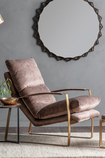 Fabien Mineral Lounger By Hudson Living