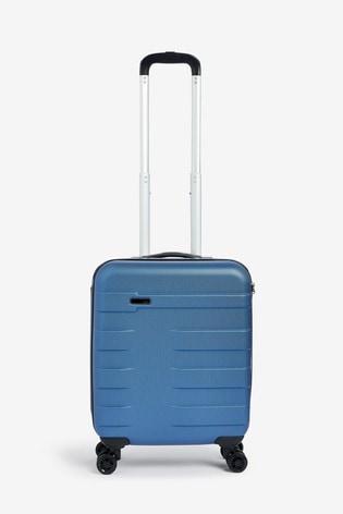 Blue Small Hard Case With TSA Security Lock